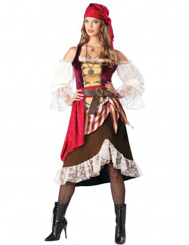 Déguisement Pirate Matelot pour femme - Premium