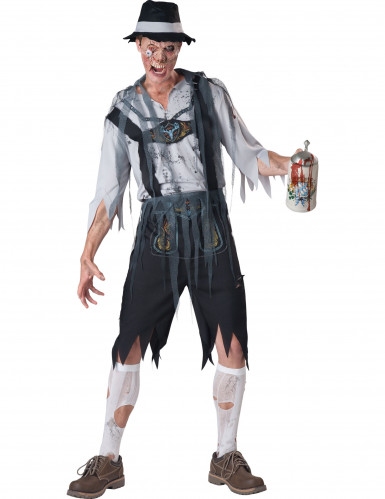 Déguisement Zombie Bavarois pour homme - Premium