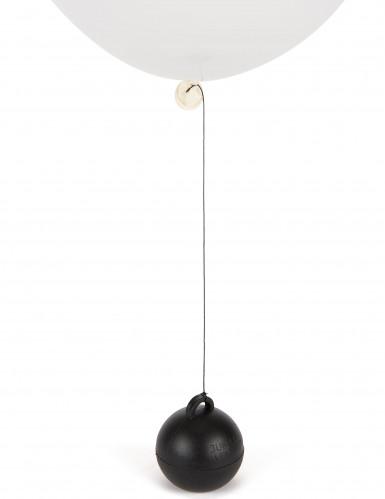 Poids ballon hélium noir