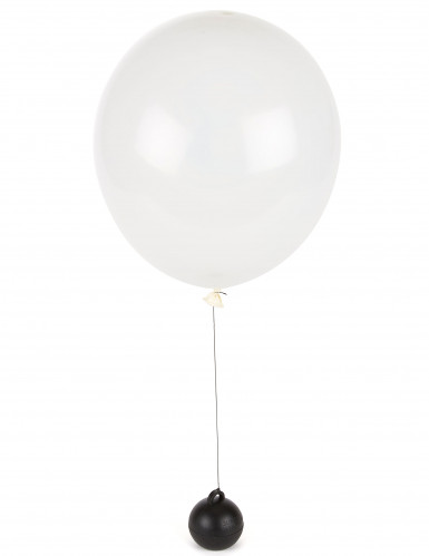 Poids ballon hélium noir-1