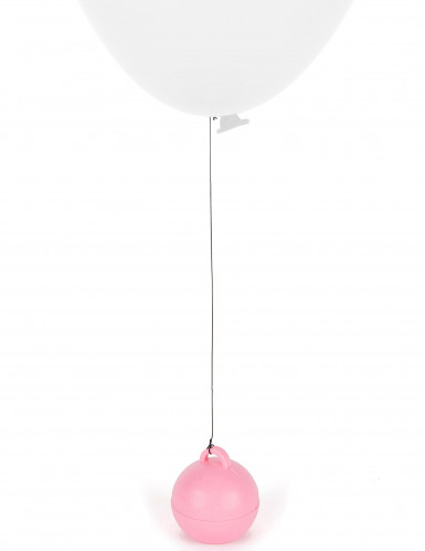 Poids ballon hélium rose