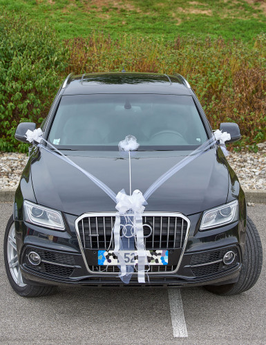 Kit de décoration voiture mariage