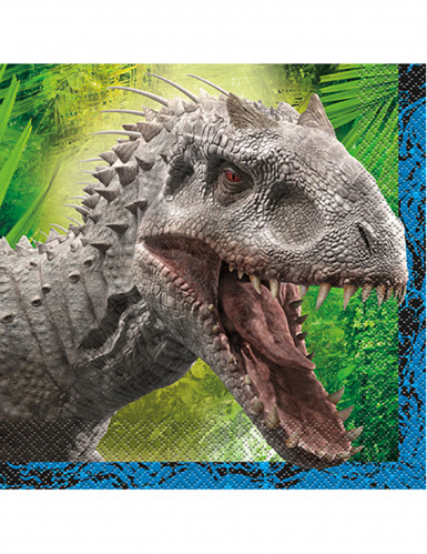16 serviettes en papier Jurassic World™