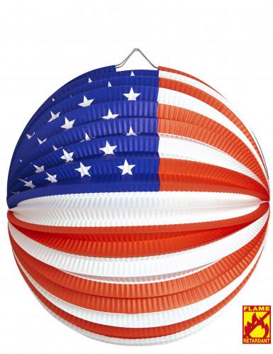 Lanterne boule USA 25 cm