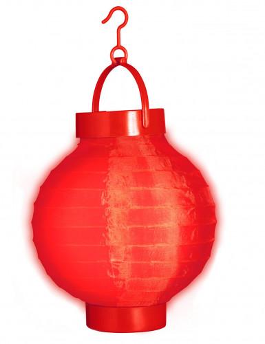 Lanterne lumineuse rouge 15 cm