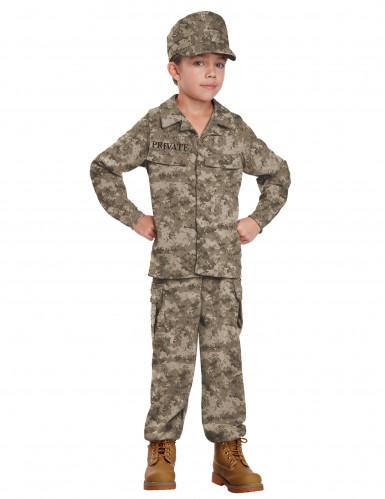 Déguisement soldat militaire pour garçon