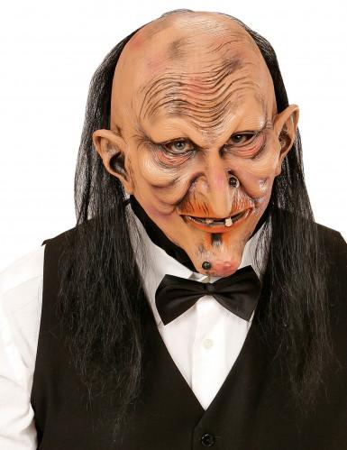 Masque majordome terrifiant adulte