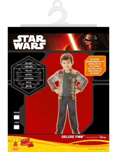 Déguisement Luxe Finn - Star Wars VII™ enfant-2