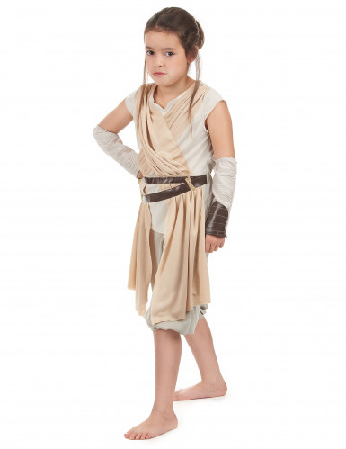 Déguisement luxe Rey pour fille - Star Wars VII™-1