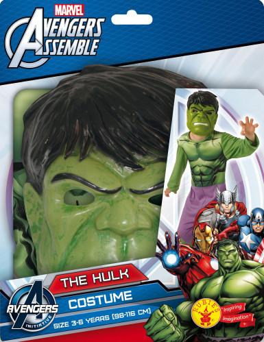 Déguisement classique Hulk + masque enfant - Avengers™-1