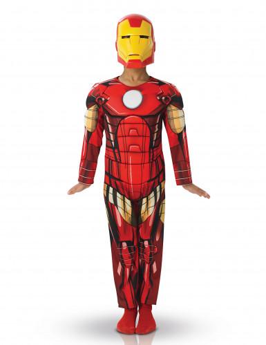 Déguisement luxe rembourré  Iron Man™ enfant Avengers™