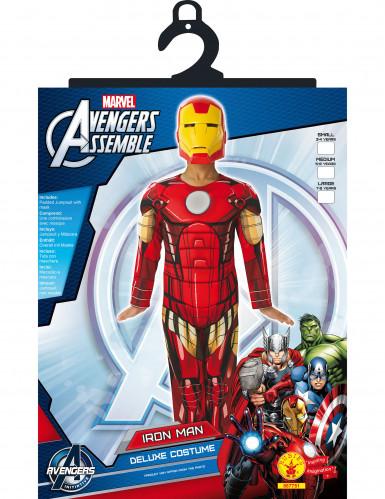 Déguisement luxe rembourré  Iron Man™ enfant Avengers™-1