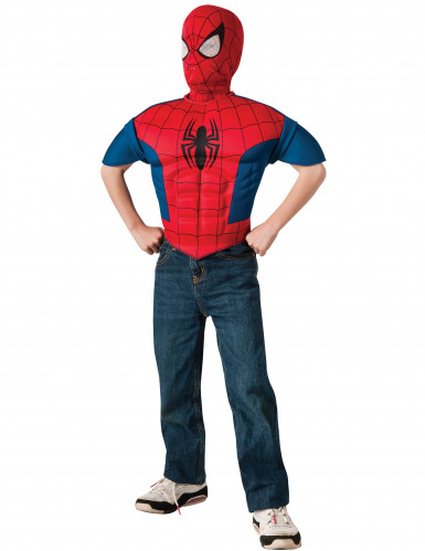 Plastron et cagoule enfant Spiderman™ Ultimate