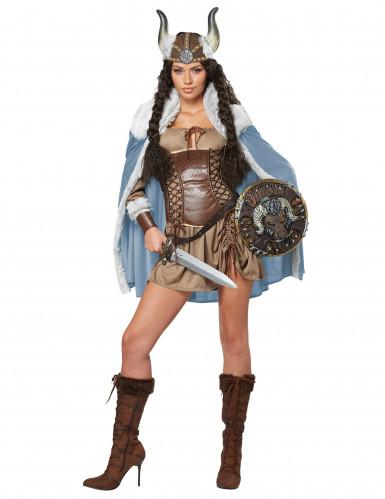 Déguisement femme Viking pour adulte