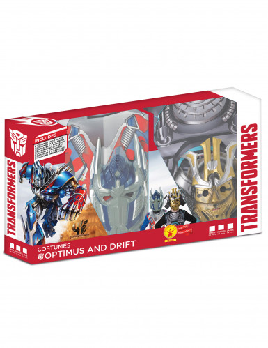 Pack déguisements enfant Transformers™ - Optimus prime et Drift™-1