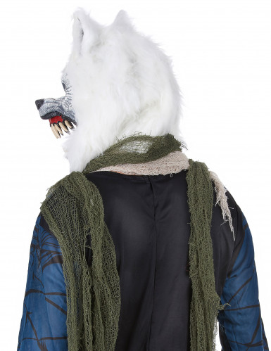 Masque Loup Blanc -2