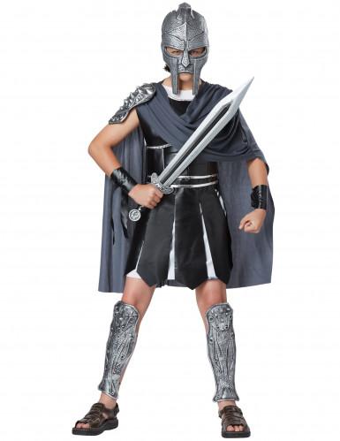 Masque et Epée gladiateur adulte en plastique-1