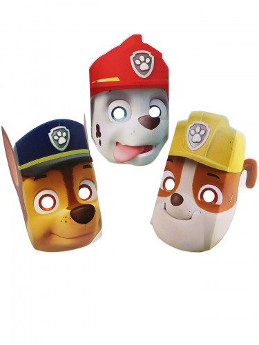 8 Masques en carton Pat' Patrouille™