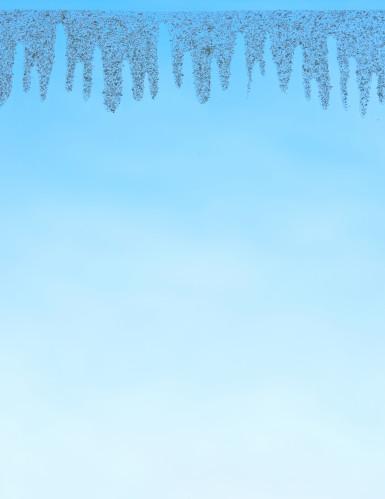 Décoration neige de Noël électrostatique pour fenêtre-1