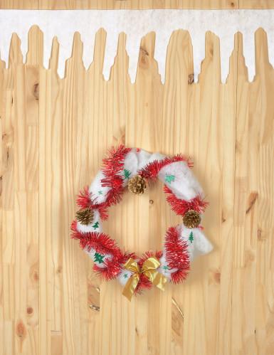 2 Guirlandes neige 120 cm Noël-1