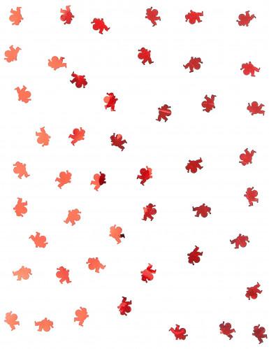 Confettis de table Père Noël rouge 10 grammes-1