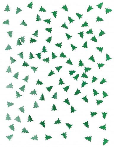 Confettis de table sapin de Noël 10 grammes-1