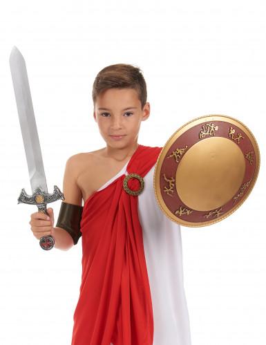 Kit Gladiateur épée et bouclier en plastique pour Enfant-1