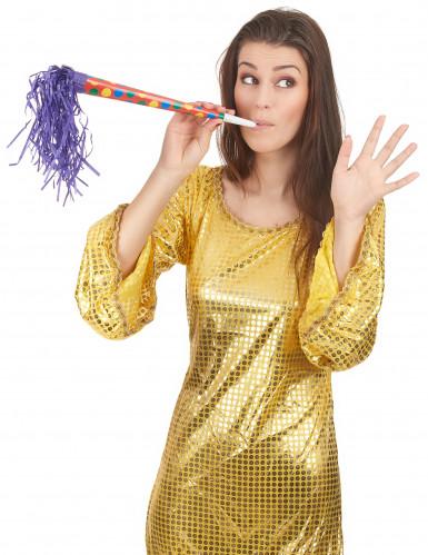 36 Trompettes géantes colorées 35 cm-1