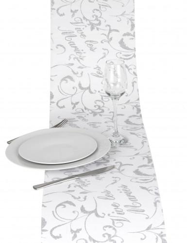 Chemin de table vive les mariés-2