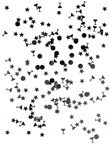Trio de confettis noir-1