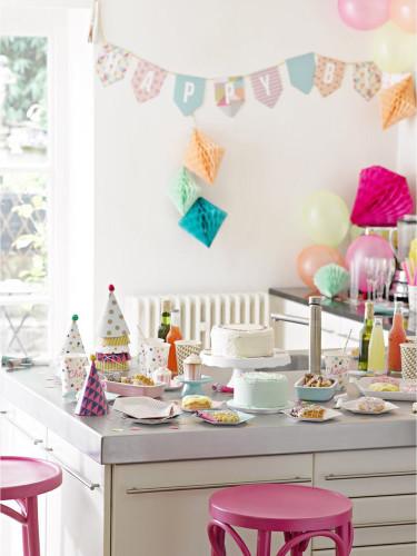 Guirlande Happy Birthday Party time-1