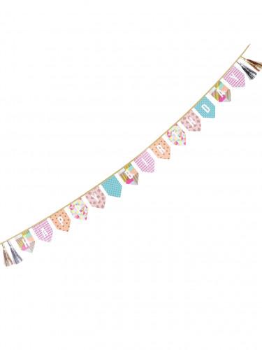 Guirlande Happy Birthday Party time