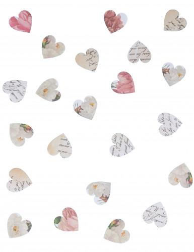 Confettis coeurs en papier-1