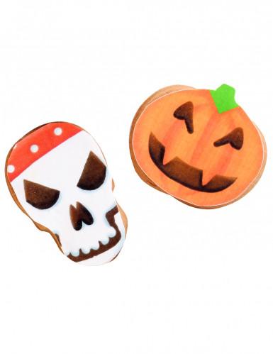 9 Décorations en sucre pour biscuits Halloween