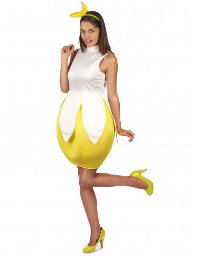 Déguisement banane femme-1