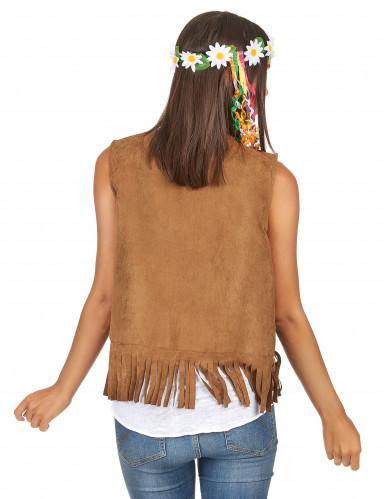 Gilet hippie femme-1