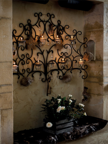Cagette de décoration en bois 11 x 20 x 15 cm-1