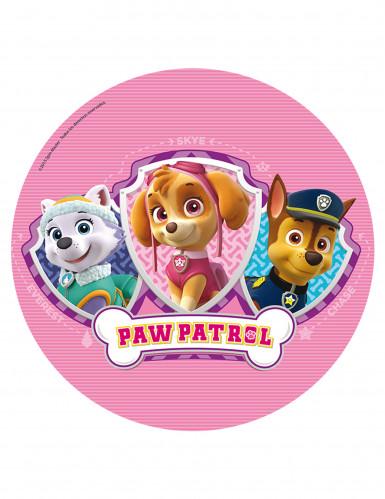 Disque en azyme rose Pat'Patrouille™ 20 cm