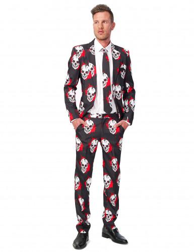 Costume Mr. Skull ensanglanté homme Suitmeister™ Halloween
