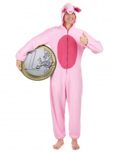 Déguisement cochon homme