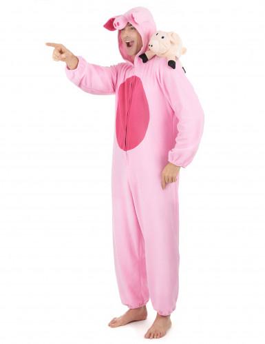 Déguisement cochon homme-1