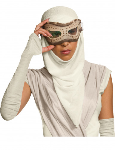 Masque adulte avec cagoule Rey - Star Wars VII™-1