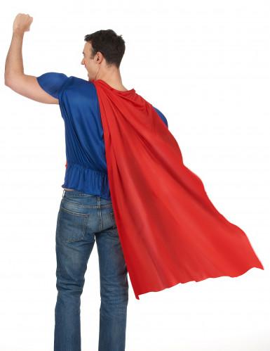 Haut de héros avec cape adulte - France-2