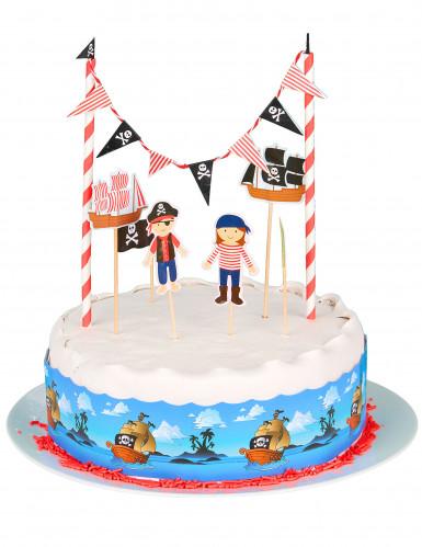 Décoration pour gâteau pirate-1