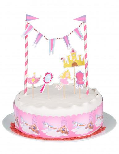 Décoration pour gâteau princesse-1