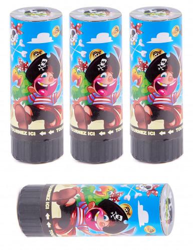 4 Canons à confettis Pirate