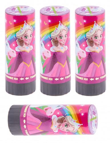 4 canons à confettis princesse