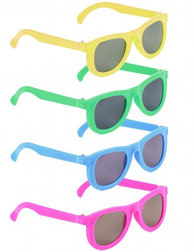 4 paires de lunettes enfant