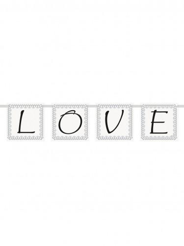 Petite guirlande Love 70 cm