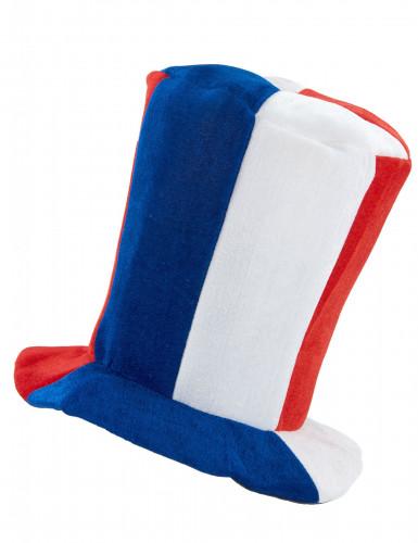 Chapeau haut de forme musical supporter France